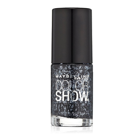 Maybelline Color Show Jewels Nail Lacquer Top Coat - Gleaming Graphite #606