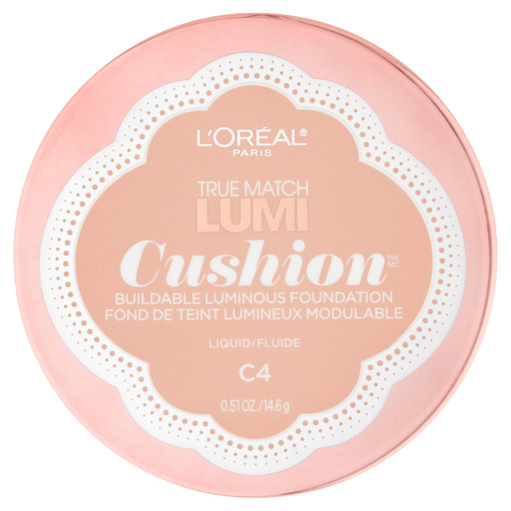 L'Oreal Tru Match Lumi Cushion Foundation - #C4 Shell Beige