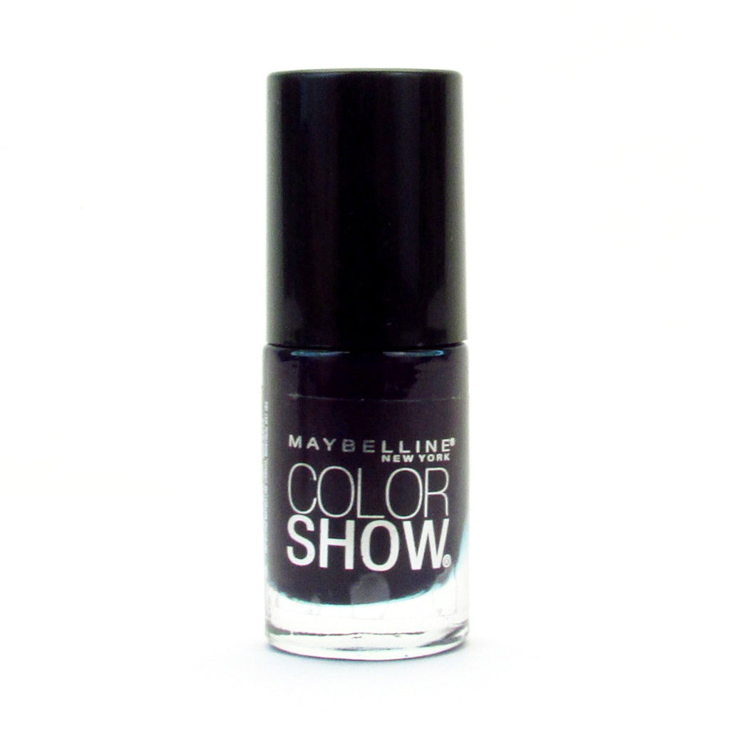 Maybelline Color Show Nail Polish Lacquer #345 Midnight Blue