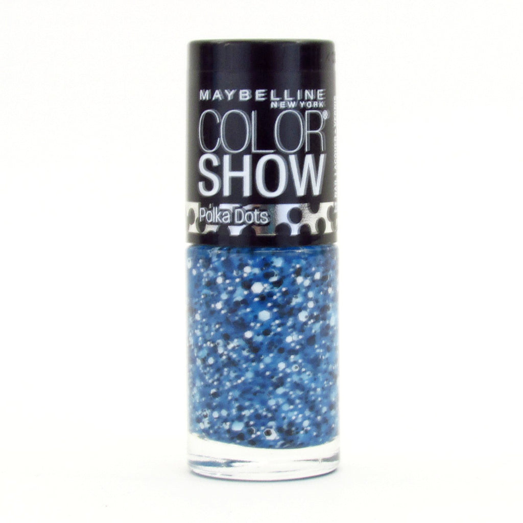 Maybelline Color Show Nail Polish Lacquer #95 Blue Marks The Spot
