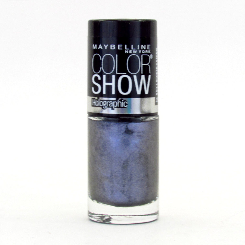 Maybelline Color Show Nail Polish Lacquer #05 Blue Blaze