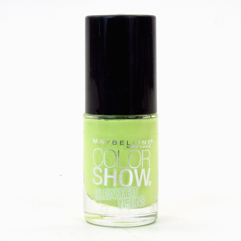 Maybelline Color Show Bleached Neons Nail Polish Lacquer #764 Lime Accent
