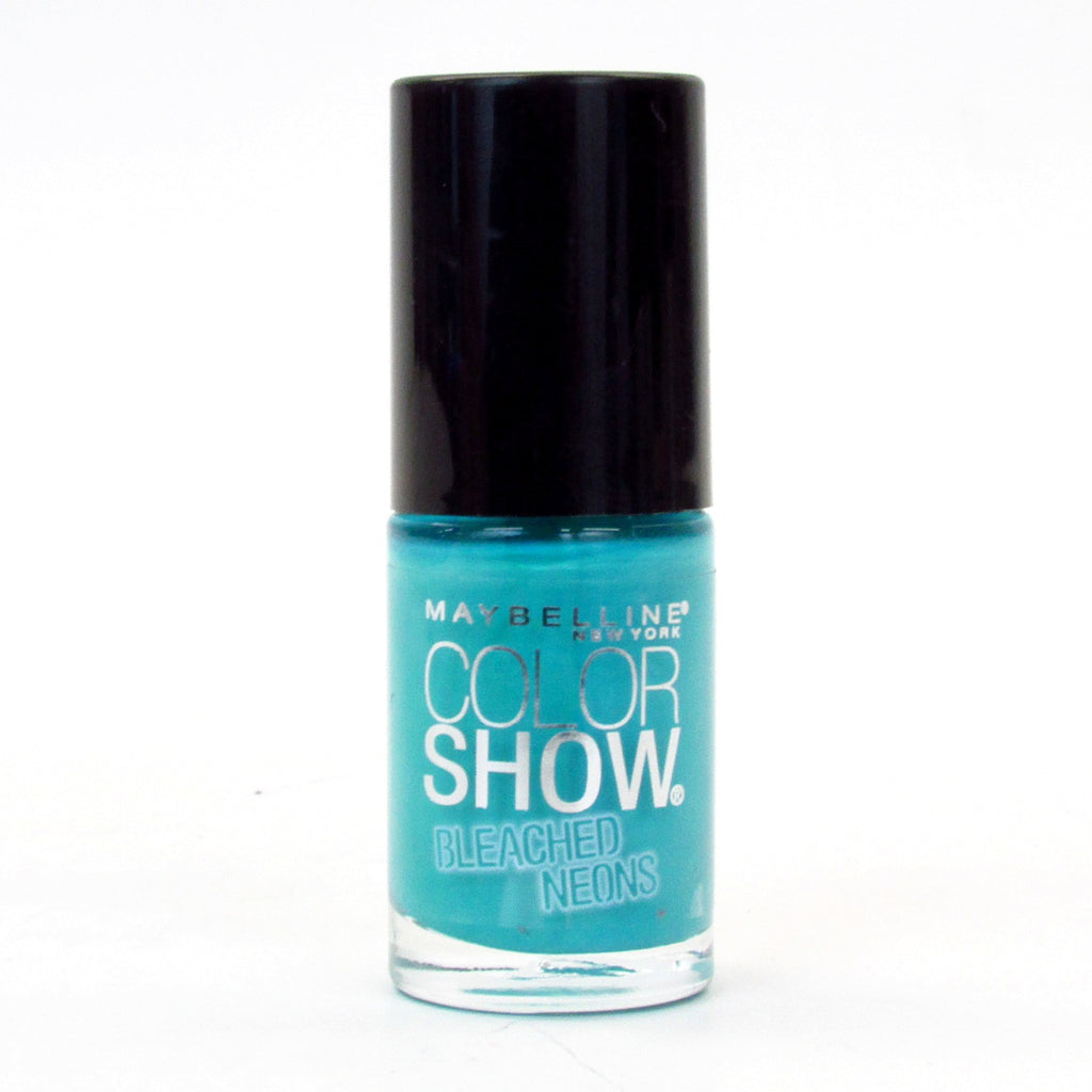 Maybelline Color Show Bleached Neons Nail Polish Lacquer #766 Day Glow Teal