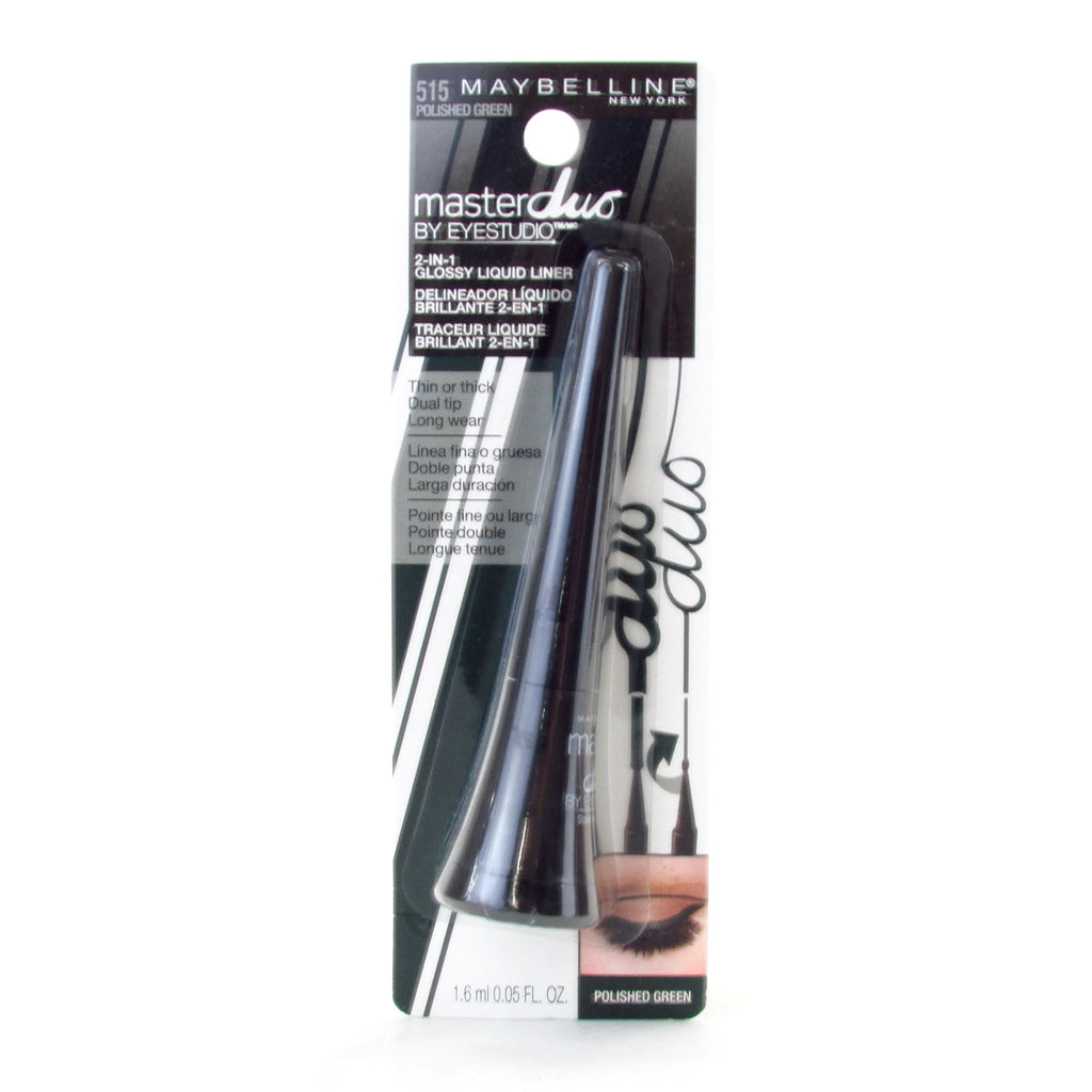 Maybelline Master Duo 2-In-1 Glossy Liquid Eyeliner #515 Polished Green