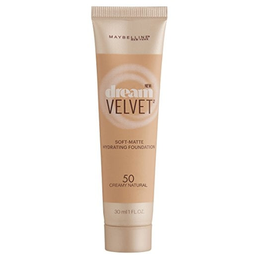 Maybelline Dream Velvet Foundation - Creamy Natural #50
