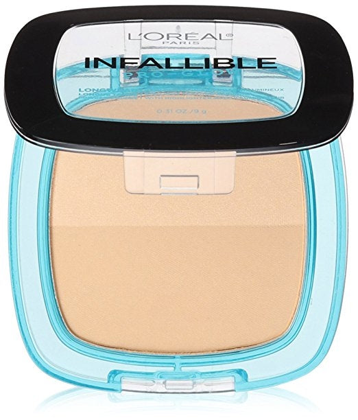 L'Oreal Infallible Pro Glow Pressed Powder - Nude Beige #23