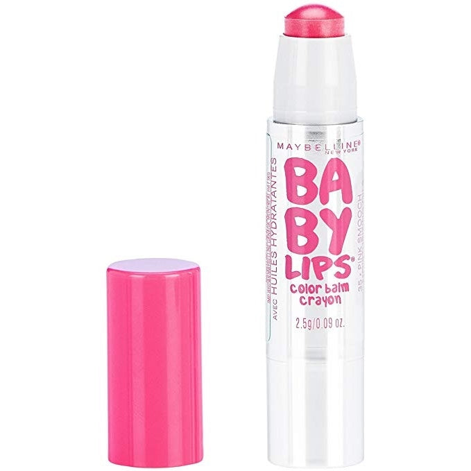 MAYBELLINE BABY LIPS CRAYON BALM- PINK SMOOCH