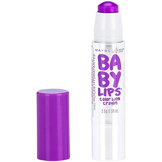 Maybelline Baby Lips Color Balm Crayon - Playful Purple #40