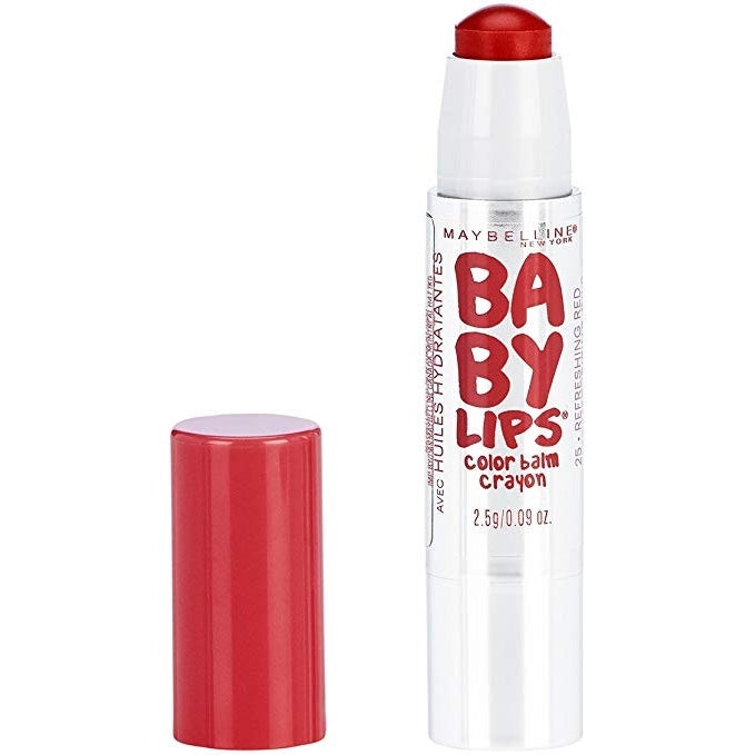 MAYBELLINE BABY LIPS CRAYON BALM- REFRESHING RED