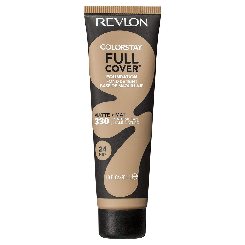 Revlon Colorstay Full Cover Foundation - natural tan #330