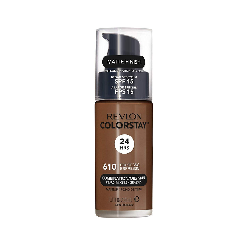 Revlon Color Stay Makeup Combination-Oily Skin - Espresso #610