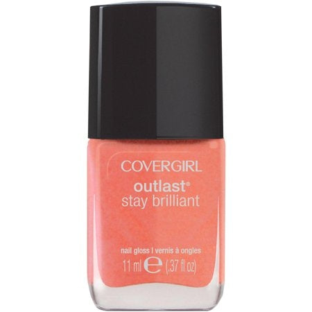 Covergirl Outlast Stay Brilliant Nail Polish - Rose Gold #241