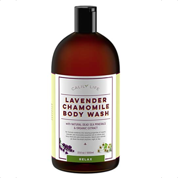 Calily Life Lavender Chamomile Body Wash Relax - 33.8 fl.oz