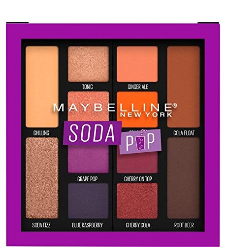 Maybelline SODA POP eyeshadow pallete -   #110