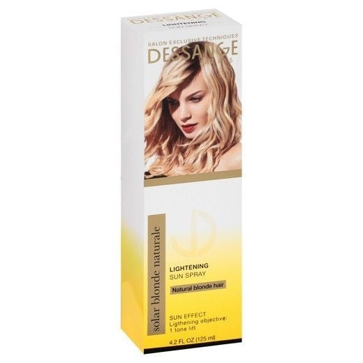 Dessange Solar Blonde Naturale Lightening Sun Spray Leave-In Treatment 4.2oz