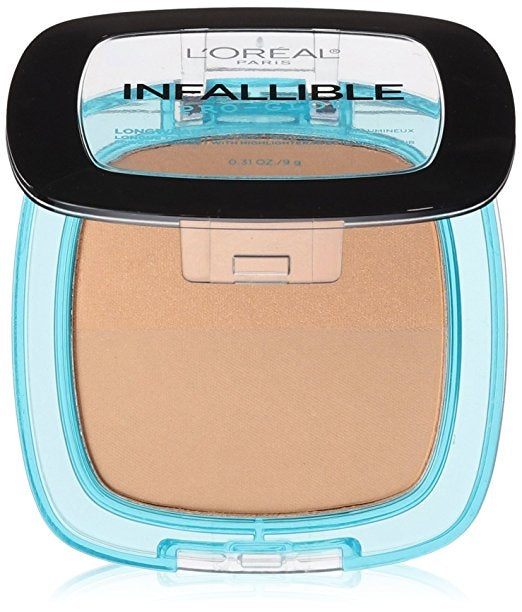 L'Oreal Infallible Pro Glow Pressed Powder - Sun Beige #26
