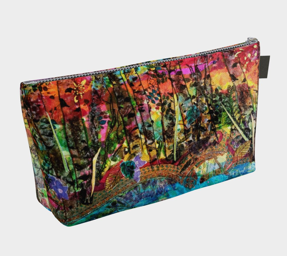 Autumn Preview Cosmetic Zip Bag - Deborah Cherrin Design