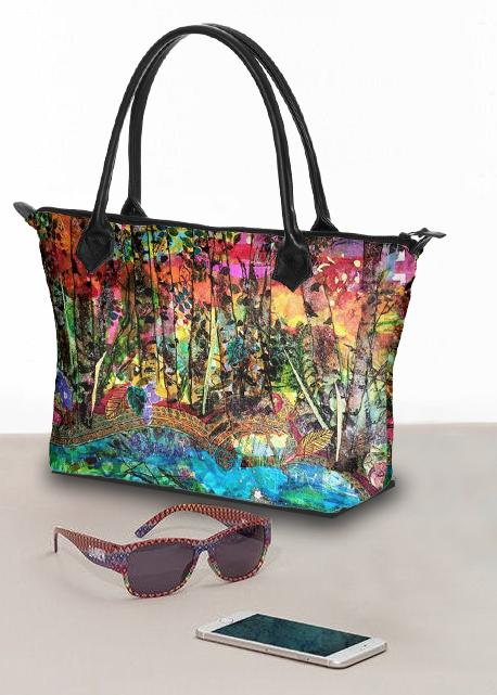 Autumn Preview Large Handbag - Deborah Cherrin Design