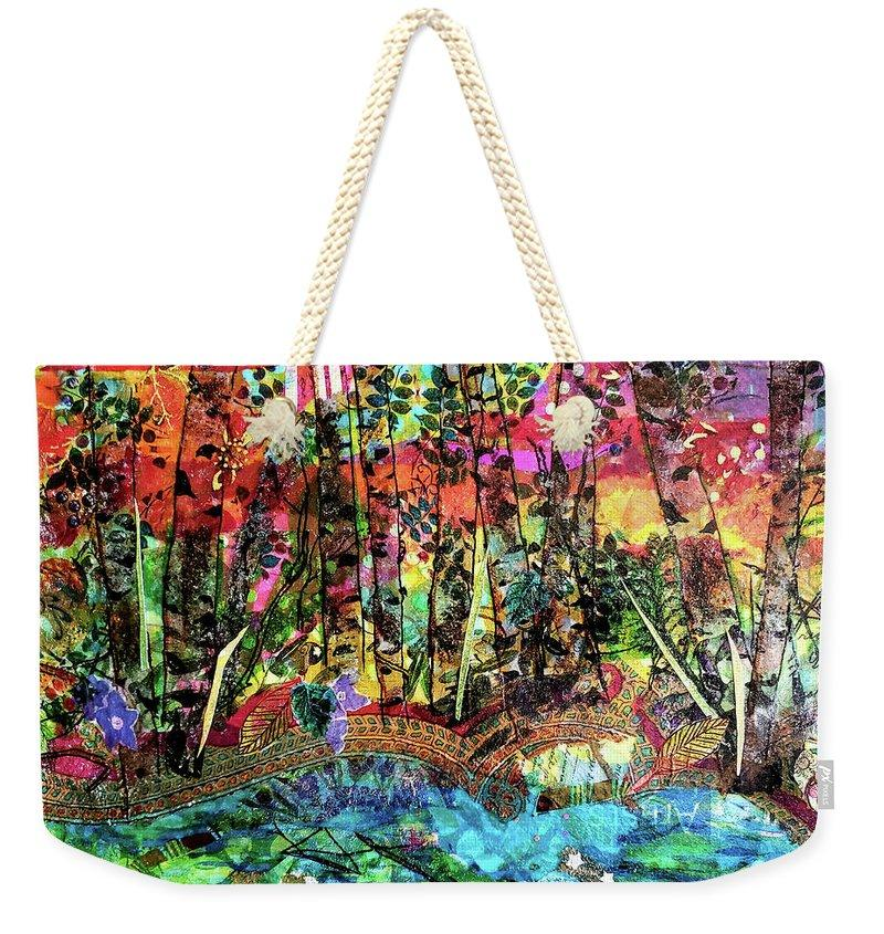 Autumn Preview - Weekender Tote Bag - Deborah Cherrin Design