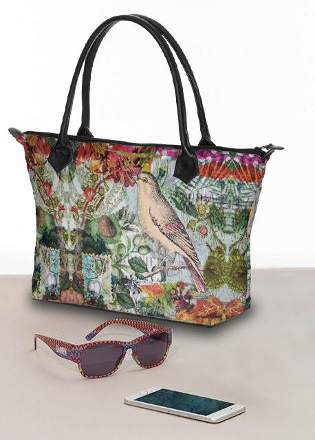 Garden Magic Large Handbag - Deborah Cherrin Design