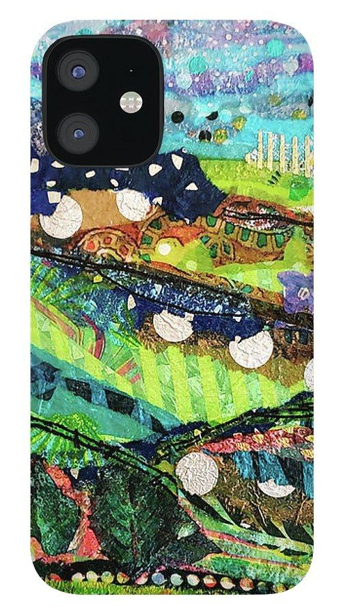 Welsh Hills Original Art Phone Case - Deborah Cherrin Design