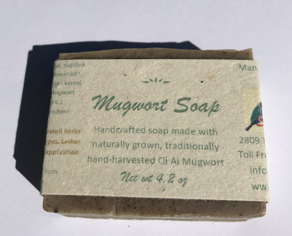 Authentic Mugwort Herbal Soap