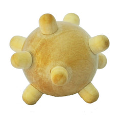 Mini Wooden Acupressure Hand Massage Ball
