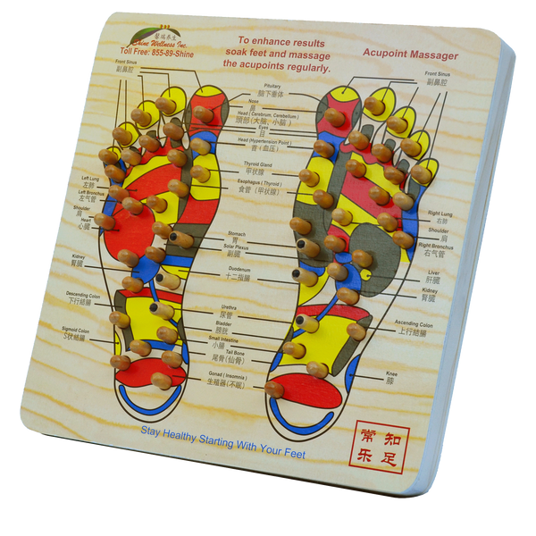 Acupoint Foot Board (Minor Defect)
