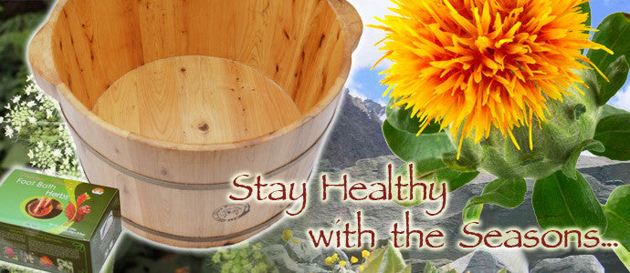 Stay healthy with the seasons...