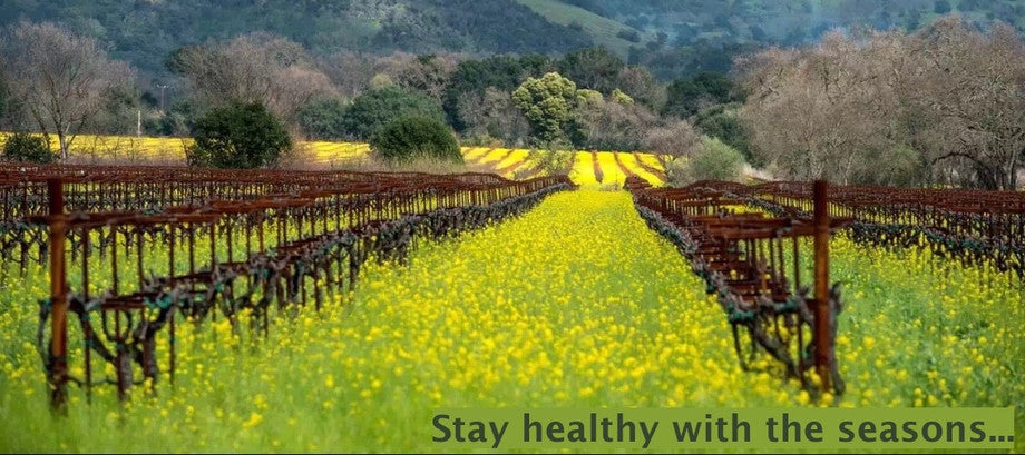 Stay health with the season