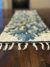 Embroidered Table Runner From Kashmir, India