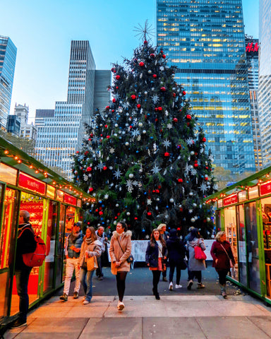 Bryant Park Winter Village | Christmas in NYC | Bodeguita NYC Designs Made with Happiness