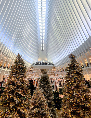 The Oculus during the Holidays | Christmas in NYC | Bodeguita NYC Designs Made with Happiness