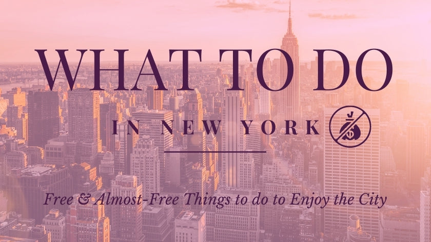 What to Do in NYC Free & Almost-Free | Bodeguita NYC