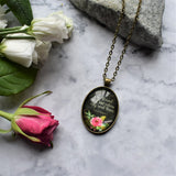 "Bible Verse Necklace ""I have found the one whom my soul loves"""