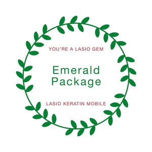 Emerald | Mobile Keratin Service + Keratin Shampoo & Conditioner