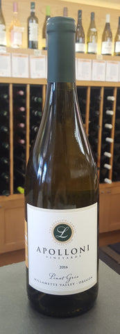 Apolloni Vineyards Pinot Gris