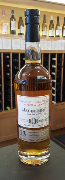 Jacoulot Single Malt Scotch Whiskey