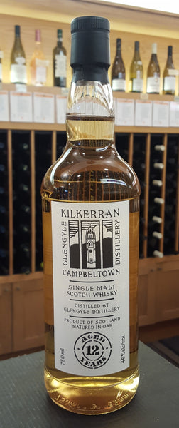 Kilkerran Single Malt Scotch Whiskey 12yr