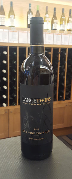 Lange Twins Old Vine Zinfandel SUSTAINABLE
