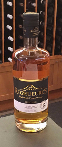 Rozelieures Single Malt French Whisky Peated Collection