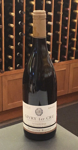 "Givry 1er Cru Bourgogne Rouge ""La Grande Berge"" SUSTAINABLE"
