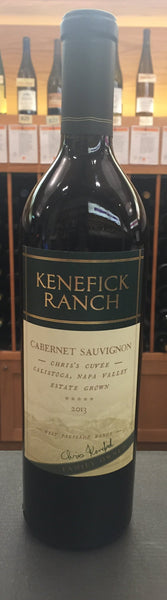 Kenefick Ranch Winery Chris' Cuvée SUSTAINABLE