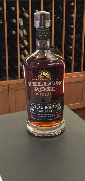 Yellow Rose Distillery: Outlaw Bourbon Whiskey
