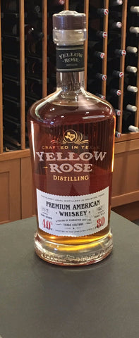 Yellow Rose Distillery: Premium American Whiskey