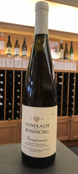 Gundlach Bundschu Estate Dry Gewürztraminer SUSTAINABLE