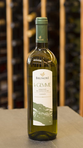 Brunori Le Gemme Verdicchio dei Castelli di Jesi Sustainable
