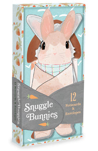 Snuggle Bunnies Notecards