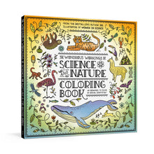 Load image into Gallery viewer, The Wondrous Workings of Science and Nature Coloring Book