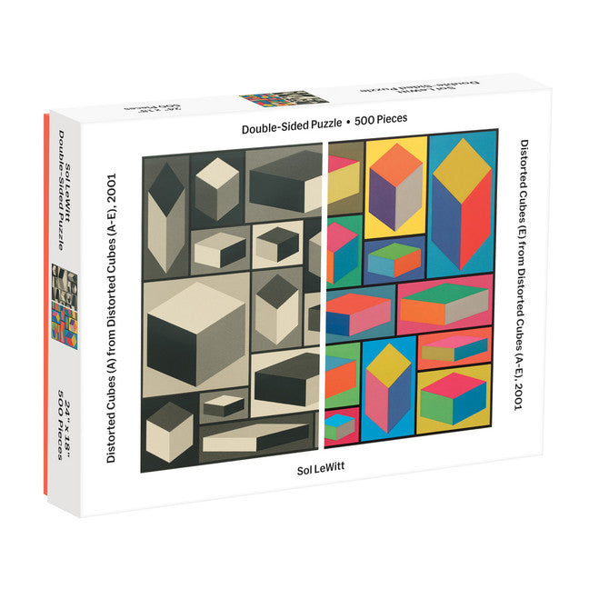 MoMA Sol Lewitt 500 Piece 2-Sided Puzzle